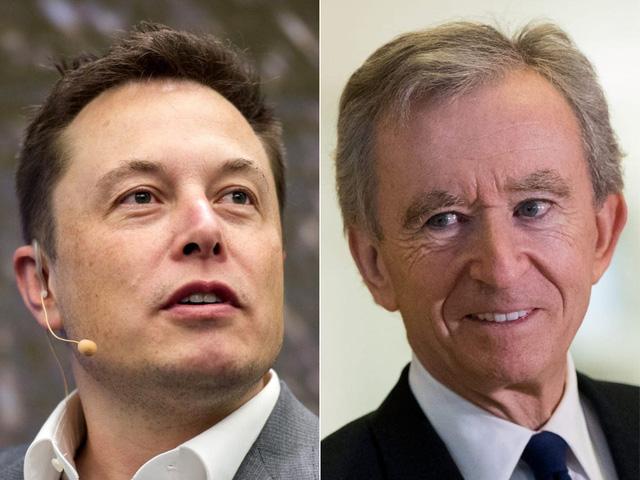 Elon Musk mất ngôi giàu số 2 thế giới - ảnh 1
