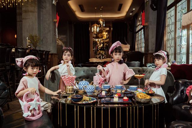 Bộ ảnh thời trang của 4 'quý cô nhí' sành điệu gây sốt - Ảnh 1.