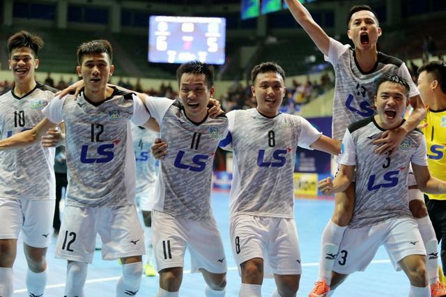 Futsal Việt Nam từng có ký ức ngọt ngào trước futsal Lebanon - Ảnh 1.