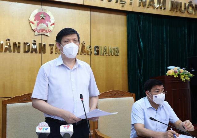 Bộ Y tế: Bắc Giang cần được đặt trong tình trạng báo động rất cao - Ảnh 1.