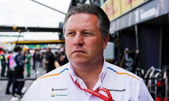 Đội McLaren không hài lòng vì số chặng đua ở mùa 2021 - Ảnh 1.