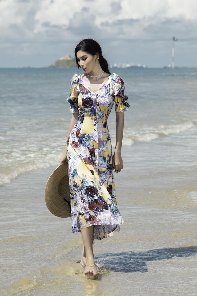 Á hậu Ngọc Thảo hóa nàng thơ trên bãi biển - ảnh 10