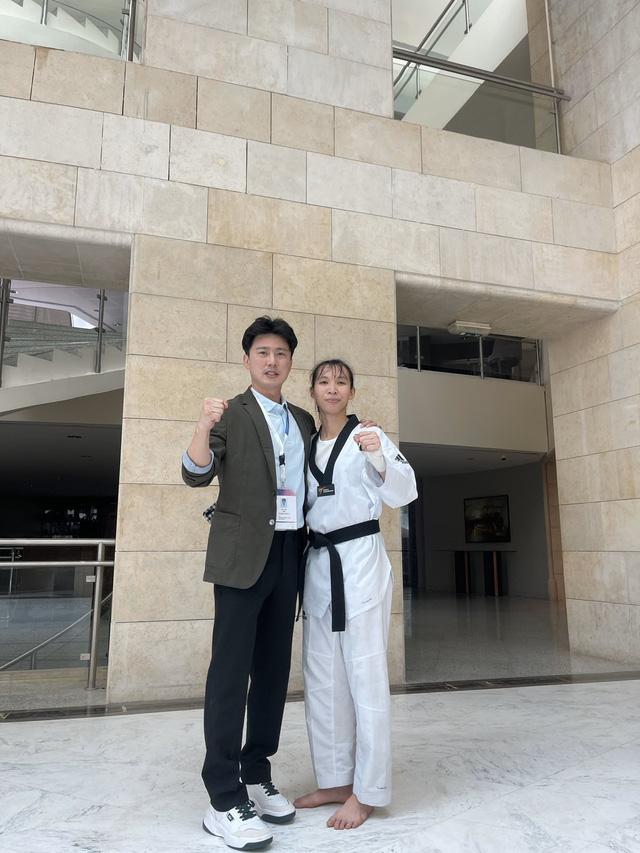Hình ảnh: Võ sĩ Trương Thị Kim Tuyền xuất sắc giành tấm vé tham dự Olympic Tokyo số 2