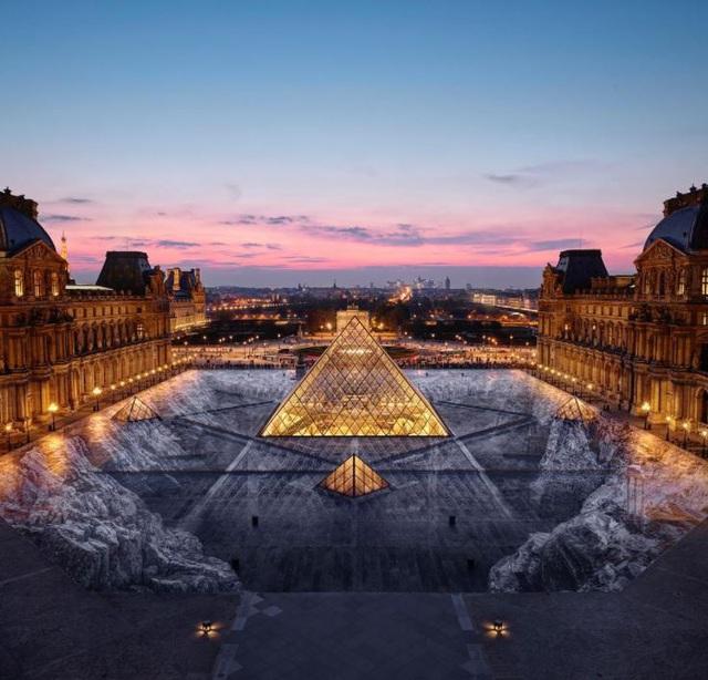 Nghệ thuật sắp đặt 3D chào mừng Tháp Eiffel sắp đón khách trở lại - ảnh 11