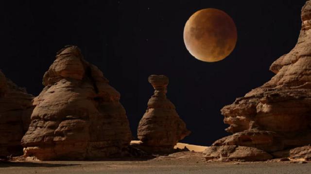 Tại sao mặt trăng chuyển sang màu đỏ khi nguyệt thực toàn phần? - ảnh 1