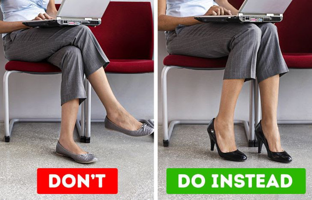 Thói quen ngồi vắt chéo chân có thể gây tê liệt thần kinh - ảnh 1