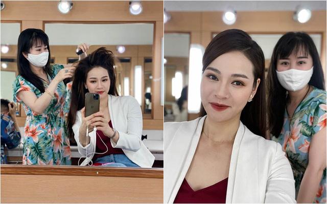 Dàn MC, BTV mê tóc dài: Thụy Vân biến hóa, Hoài Anh cuốn hút, Thu Hương lại than dày - Ảnh 8.