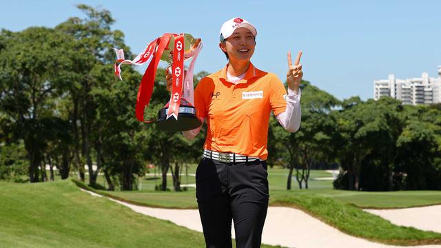 Những nhà vô địch golf tuần qua: Kim Hy Joo, Dean Burmester, Sam Burns… - Ảnh 1.
