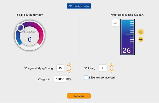 Người dân có thể tự tính lượng điện tiêu thụ hàng tháng - ảnh 2