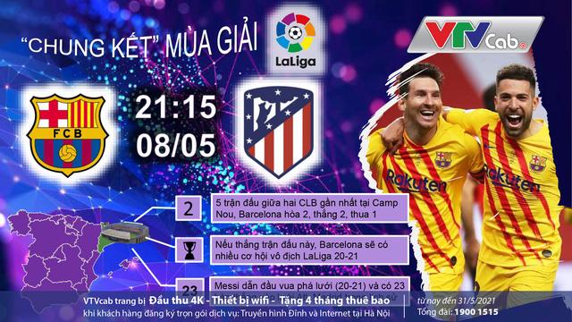 Đón xem những vòng đấu quyết định trên VTVcab: Ai xứng đáng ngôi vương La Liga? - Ảnh 1.