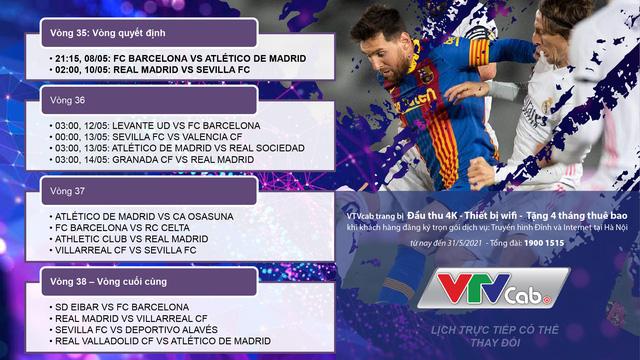 Đón xem những vòng đấu quyết định trên VTVcab: Ai xứng đáng ngôi vương La Liga? - Ảnh 2.