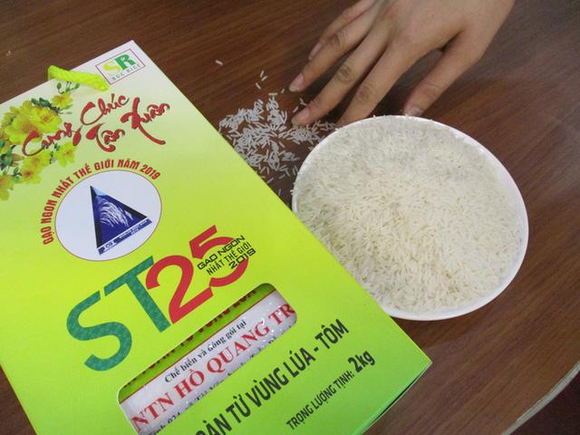 Bộ NN&PTNT xin phép Chính phủ mua lại bản quyền giống lúa ST25 - Ảnh 1.