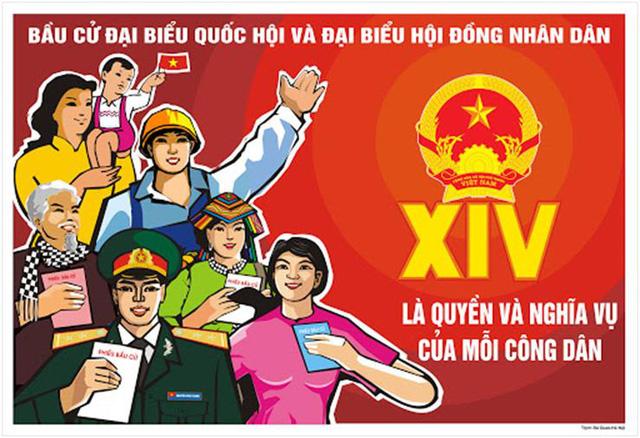 Người dân làm chủ quyền lực thông qua bầu cử đại biểu Quốc hội và đại biểu HĐND - Ảnh 1.