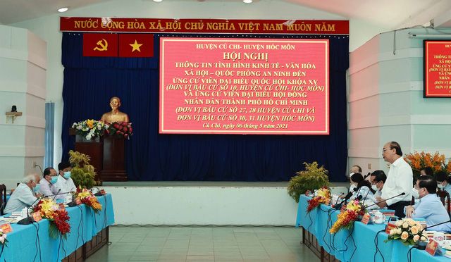Cách làm sáng tạo trong bầu cử ở TP Hồ Chí Minh - Ảnh 1.