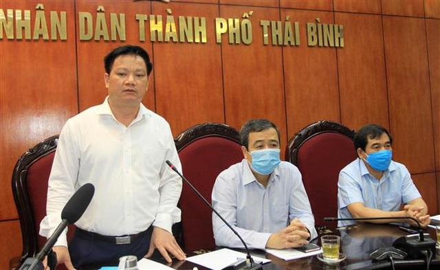 Thái Bình thực hiện giãn cách xã hội từ 12h ngày 6/5 - Ảnh 1.