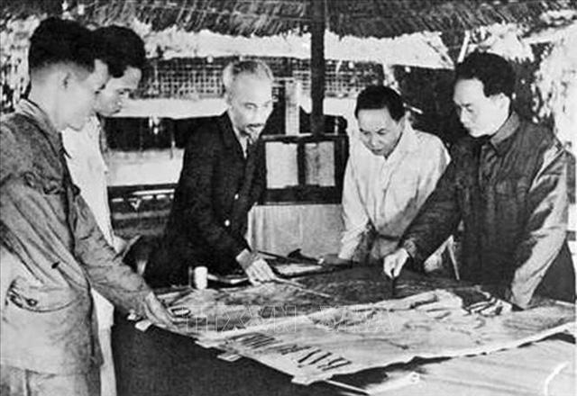 Kỷ niệm 67 năm chiến thắng Điện Biên Phủ lừng lẫy năm châu, chấn động địa cầu - Ảnh 1.