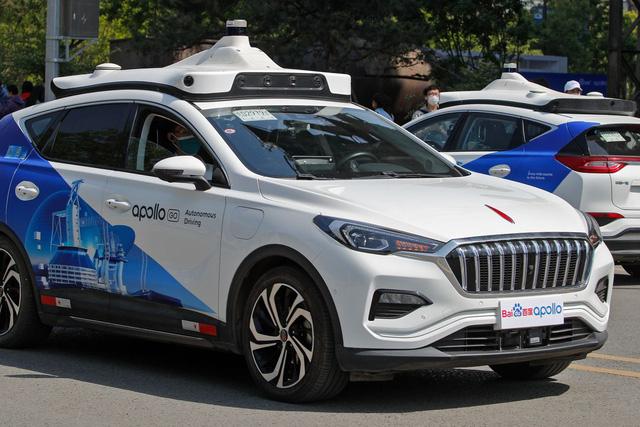 Trung Quốc triển khai dịch vụ taxi không người lái - ảnh 2