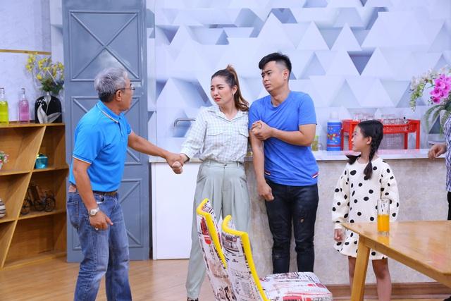 Nghệ sĩ Trung Dân quyết liệt cấm con gái yêu Lâm Thắng trong Ông bố bất đắc dĩ - Ảnh 2.