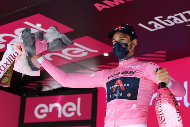 Filippo Ganna đạt thành tích tốt nhất ở chặng 1 giải xe đạp Giro dItalia 2021 - Ảnh 1.