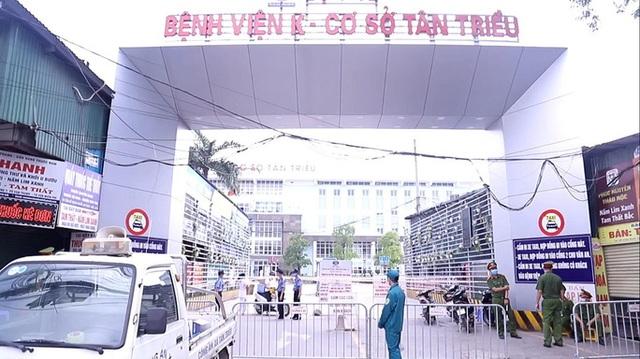 Phong tỏa, cách ly y tế 11 bệnh viện, cơ sở khám chữa bệnh trên cả nước vì COVID-19 - Ảnh 1.