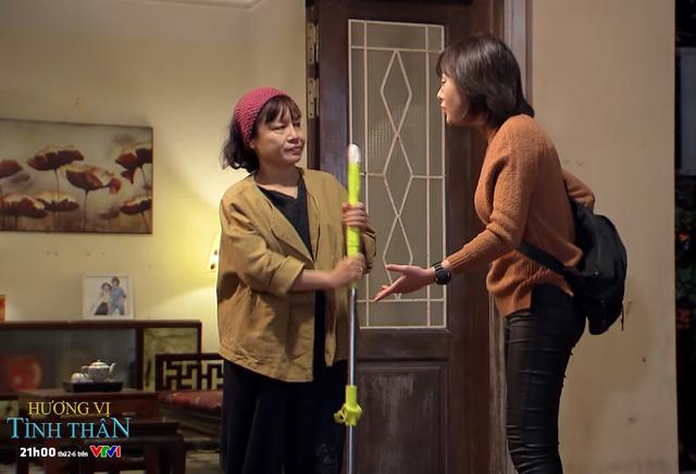 Hương vị tình thân - Tập 31: Bẽ mặt vì làm giúp việc, bà Bích bắt con gái  phải đến làm cùng   VTV.VN