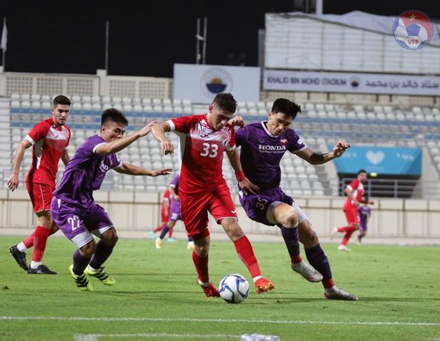 ĐT Việt Nam và ĐT Jordan bất phân thắng bại trong trận giao hữu tại UAE - Ảnh 1.