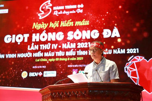 Hành trình Đỏ 2021 khởi đầu thắng lợi với 1.402 đơn vị máu tiếp nhận tại Lai Châu - Ảnh 2.