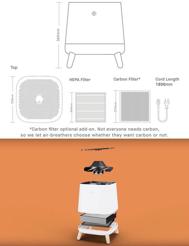 Máy lọc không khí Sqair – Smart Air: Giải pháp hít thở không khí sạch mà không cần bỏ ra hàng chục triệu đồng - Ảnh 2.