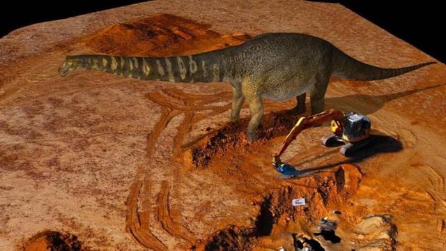 Phát hiện loài khủng long mới có kích cỡ khổng lồ tại Australia - Ảnh 2.