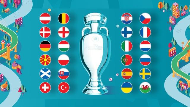 Khán giả chuẩn bị ăn ngủ cùng UEFA EURO 2020 trên sóng VTV - Ảnh 1.