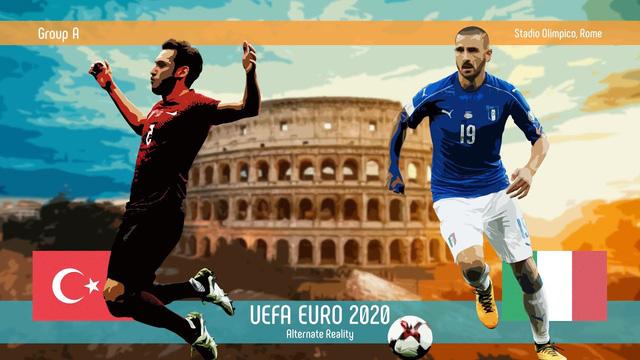 Lịch thi đấu và trực tiếp EURO 2020 ngày khai mạc (12/6): Tâm điểm ĐT Thổ Nhĩ Kỳ vs ĐT Italia - Ảnh 2.