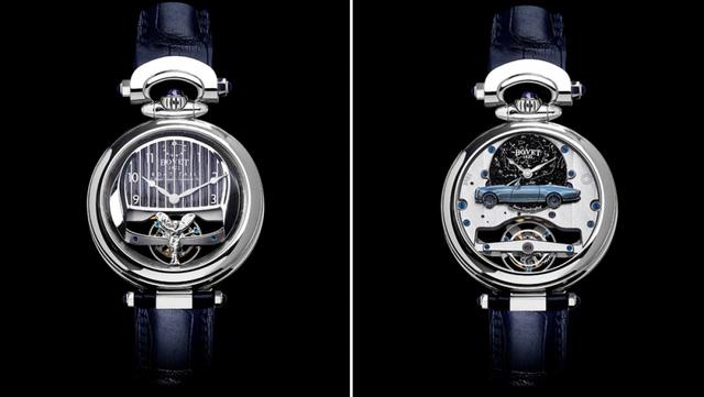 Mất 3.000 giờ để chế tác chiếc đồng hồ trên mẫu xe đắt nhất thế giới - Ảnh 1.