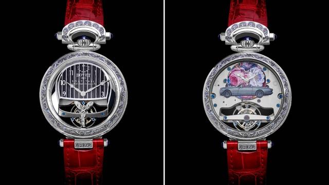 Mất 3.000 giờ để chế tác chiếc đồng hồ trên mẫu xe đắt nhất thế giới - Ảnh 2.