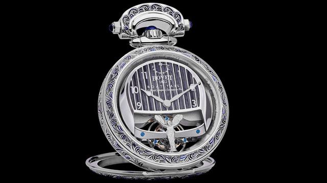 Mất 3.000 giờ để chế tác chiếc đồng hồ trên mẫu xe đắt nhất thế giới - Ảnh 4.