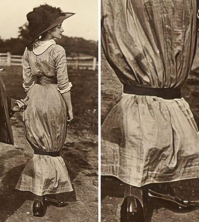Những xu hướng thời trang điên rồ từng làm mưa làm gió - Ảnh 1.