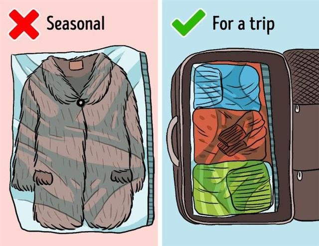 9 sai lầm hầu như ai cũng mắc phải khi cất giữ quần áo - ảnh 2