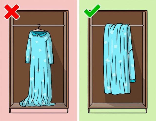 9 sai lầm hầu như ai cũng mắc phải khi cất giữ quần áo - ảnh 4