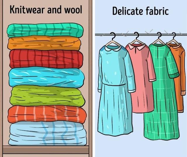 9 sai lầm hầu như ai cũng mắc phải khi cất giữ quần áo - ảnh 7
