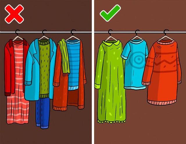 9 sai lầm hầu như ai cũng mắc phải khi cất giữ quần áo - ảnh 8