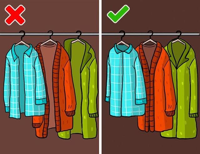 9 sai lầm hầu như ai cũng mắc phải khi cất giữ quần áo - ảnh 9