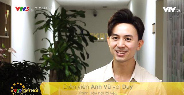Diễn viên Anh Vũ ngượng ngùng tiết lộ về nụ hôn đầu tiên trên phim - Ảnh 3.