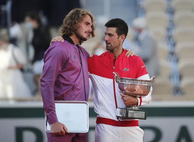 Ngược dòng ngoạn mục trước Tsitsipas, Djokovic vô địch Pháp mở rộng 2021 - Ảnh 6.