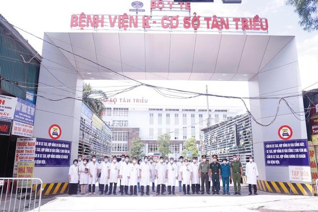 Gỡ bỏ phong toả Bệnh viện K cơ sở Tân Triều - Ảnh 4.