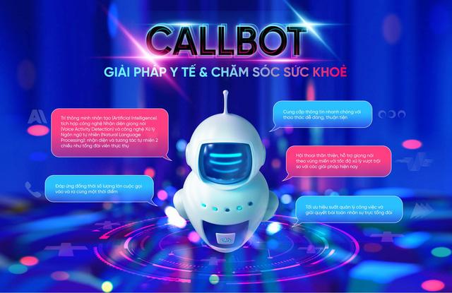 Hệ thống tổng đài tư vấn viên ảo Callbot – Chung tay tiếp sức đẩy lùi COVID-19 - Ảnh 1.