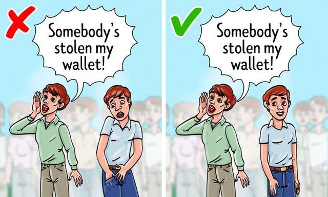 10 mẹo hay để bảo vệ tài sản của bạn khỏi kẻ móc túi - Ảnh 2.