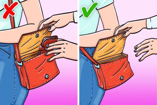 10 mẹo hay để bảo vệ tài sản của bạn khỏi kẻ móc túi - Ảnh 5.