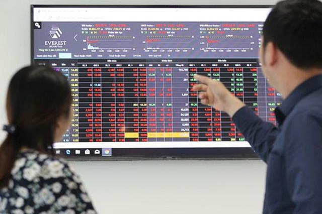 Áp lực bán gia tăng, VN-Index giảm gần 10 điểm - Ảnh 1.
