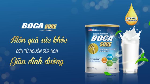 Thực phẩm bổ sung Boca Sure - Công thức hỗ trợ cho xương chắc khỏe - Ảnh 2.
