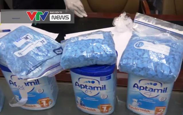 Gần 400kg ma túy giấu trong mô tơ điện, sữa bột, đồ chơi trẻ em, dạ dày lợn - ảnh 1