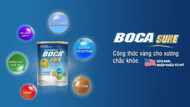 Thực phẩm bổ sung Boca Sure - Công thức hỗ trợ cho xương chắc khỏe - Ảnh 1.